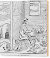 Potter, 1659 Wood Print