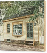 Potter's House Wood Print