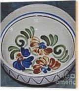 Pottery - Flower Pot Wood Print