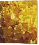 Poui Flowers Wood Print