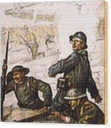 Pour La Victoire - W W 1 - 1918 Wood Print by Daniel Hagerman