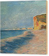 Pourville Near Dieppe Wood Print