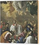 Poussin, Nicolas 1594-1665. Saint Wood Print