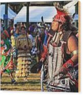 Pow Wow 13 Wood Print
