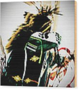 Pow Wow-44671 Wood Print