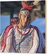 Pow Wow 46 Wood Print