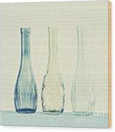 Powder Blue Wood Print