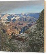 Powder Coated Canyon Wood Print