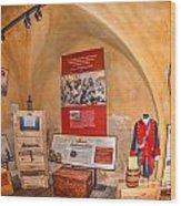 Powder Magazine Wood Print