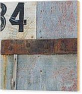Powder Magazine Wood Print by Fran Riley