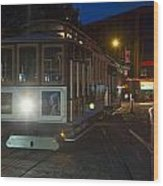 Powell And Market Trolley Wood Print