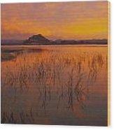 Powell Sunrise 1 Wood Print