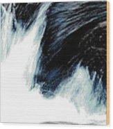 Power Of Water Wood Print
