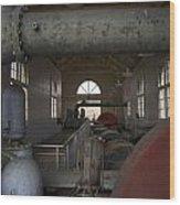 Power Production Wood Print