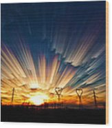 Power Source Wood Print by Matt Molloy