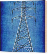 Power Up 1 Wood Print by Wendy J St Christopher