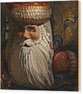 Pozdravlyaus Prazdnikom Rozhdestva Wood Print