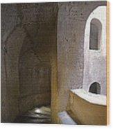 Pozzo San Patrizio/st. Patrick's Well  Wood Print by Alan  Socolik