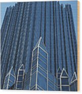 Ppg Place Pittsburgh Wood Print
