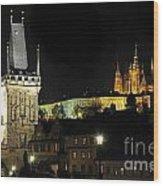 Prague 2 Wood Print