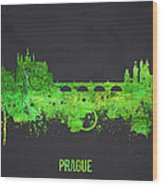 Prague Czech Republic Wood Print