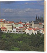 Prague Czech Republic Wood Print