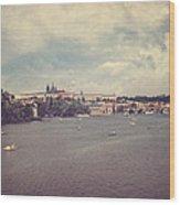 Prague Days II Wood Print