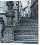 Prague Old Town - 04 Wood Print