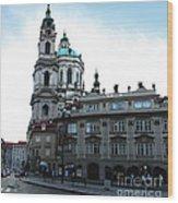 Prague Old Town - 02 Wood Print