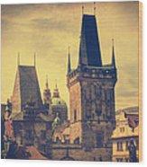 Praha Wood Print