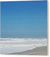 Praia Del Rey Beach Wood Print