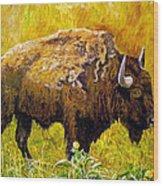 Prairie Companions Wood Print