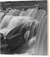 Prairie Falls Wood Print