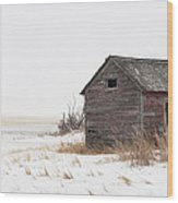 Prairie Silence... Wood Print