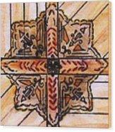 Prairie Star Wood Print