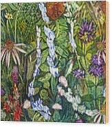 Prairie Web Wood Print