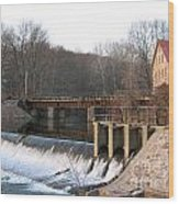 Prallsville Mill Wood Print