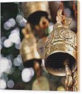Prayer Bells Wood Print