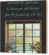Prayer For You Card Wood Print