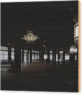 Prayer Room Of Kyoto Wood Print