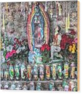 Prayers To Our Lady Of Guadalupe Wood Print