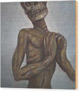 Praying Cadaver Wood Print