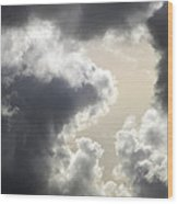 Praying For Rain Wood Print