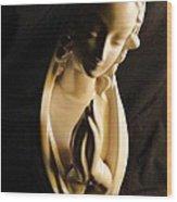 Praying Madonna Wood Print