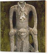 Pre-colombian Art Wood Print