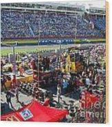 Pre-race Festivities Wood Print