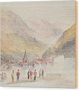 Pre St Didier, 1836 Wood Print