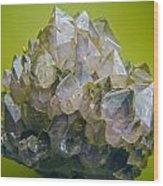 Precious Crystals Wood Print