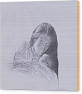 Precious Gift From The Life Of Jesus Series Wood Print