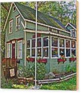 Precious In Asbury Grove In South Hamilton-massachusetts Wood Print